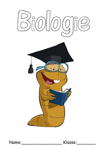 Deckblatt Biologie 16 Biologie Deckblatt Schulfächer
