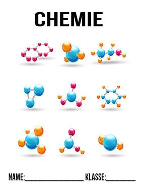 Deckblatt Chemie 3 D Moleküle