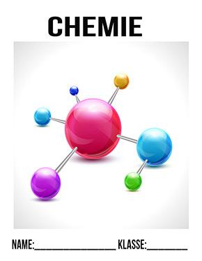 Deckblatt Chemie Molekül