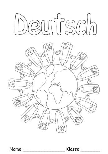 Deckblatt Deutsch 1