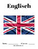 Englisch Flagge Deckblatt