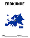 Erdkunde Europa Deckblatt