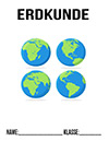 Erdkunde Globus Deckblatt