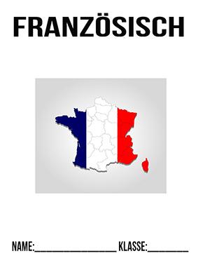 Deckblatt Französisch Frankreich