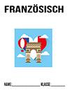 Französisch Mappe Deckblatt