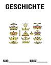 Geschichte Absolutismus Deckblatt