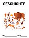 Geschichte Steinzeit Deckblatt