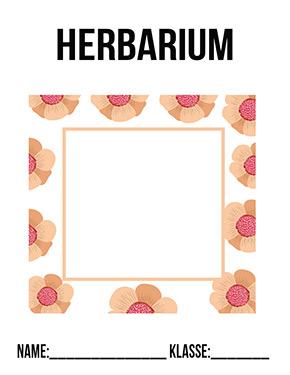 Deckblatt Herbarium Blätter