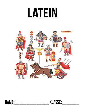 Deckblatt Latein Römer