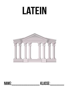Deckblatt Latein