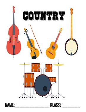 Deckblatt Musik Country
