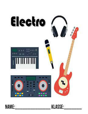 Deckblatt Musik Electro