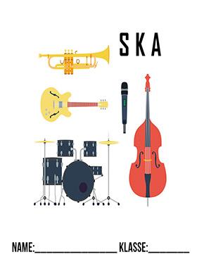 Deckblatt Musik Ska