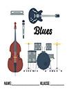 Musik Blues Deckblatt