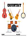 Musik Country Deckblatt