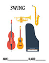 Musik Swing Deckblatt