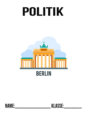 Deckblatt Politik Berlin