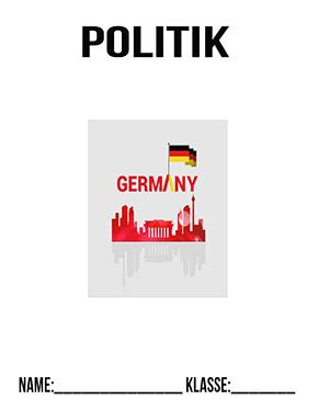 Deckblatt Politik Deutschland