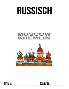 Deckblatt Russisch Moskau