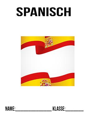 Deckblatt Spanisch Flagge