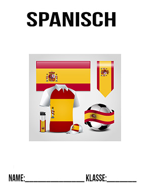 spanisch fussball deckblatt zum ausdrucken | deckblaetter.eu