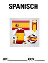 Spanisch Fussball Deckblatt