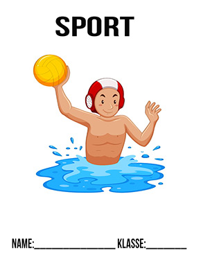 Deckblatt Sport Wasserball