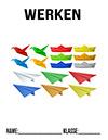 Werken Origami Deckblatt