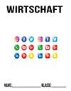 Wirtschaft Social Media Deckblatt