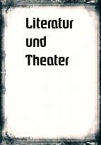 Deckblatt Literatur und Theater | Baden Württemberg