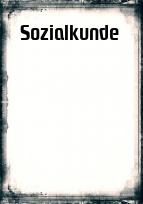 Deckblatt sozialkunde