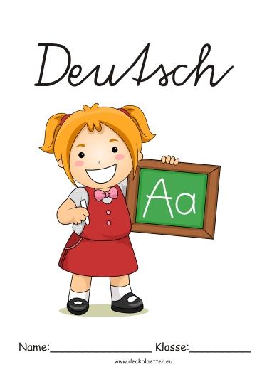 deckbl228tter deutsch grundschule grundschule schulf228cher