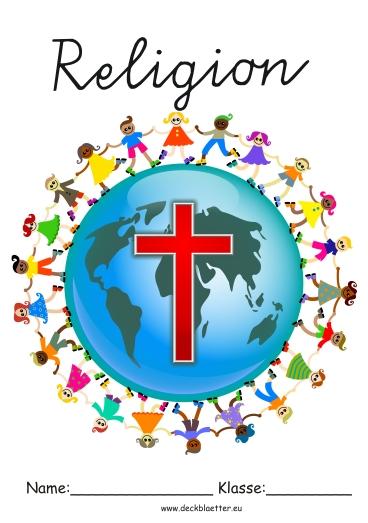 Deckblätter Religion Grundschule Schulfächer