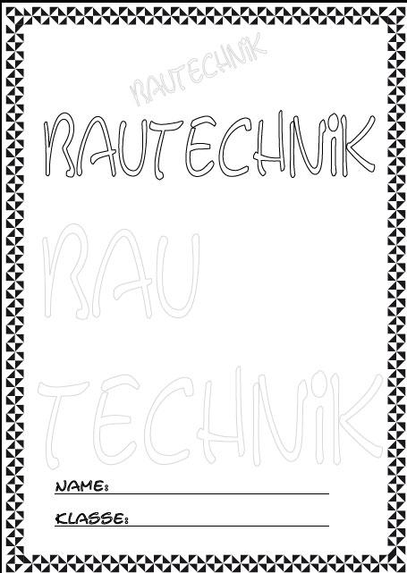 Deckblatt bautechnik 2 als pdf ausdrucken