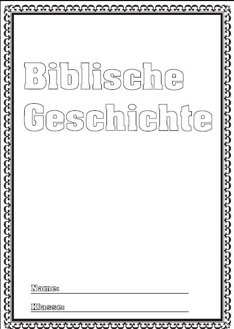Deckblatt biblische geschichte als pdf ausdrucken