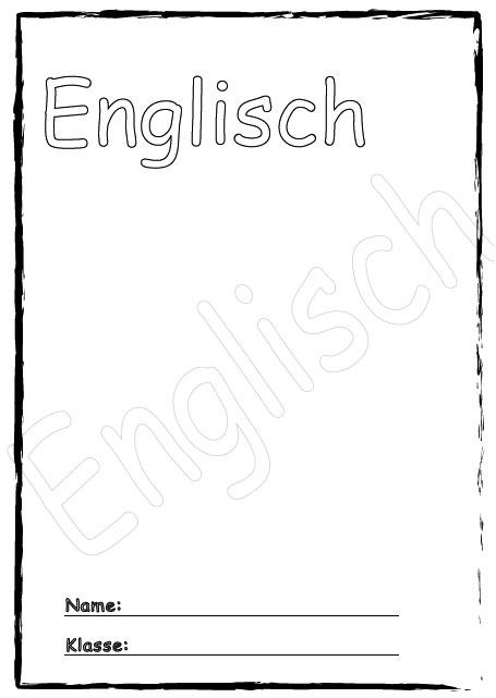 Deckblatt englisch als pdf ausdrucken