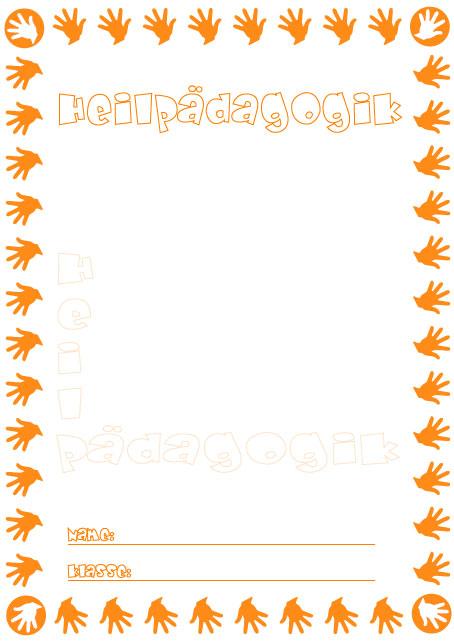Deckblatt heimat und sachkunde als pdf ausdrucken