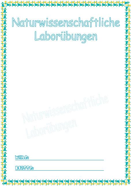 Deckblatt Naturwissenschaften | marlpoint