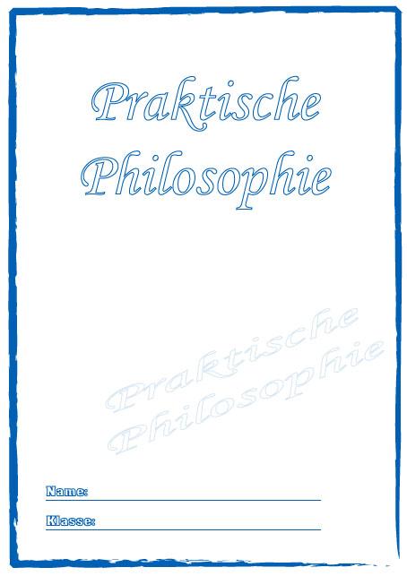 Deckbl tter praktische philosophie schule schulfach for Raumgestaltung chinesisch