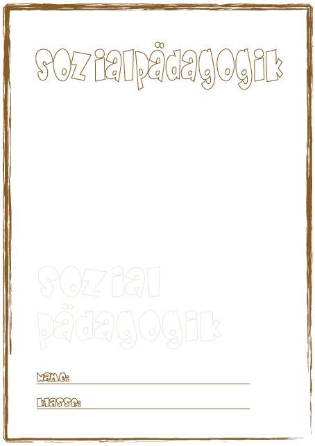 Biologie deckblatt zum ausdrucken dibujos para colorear imagixs