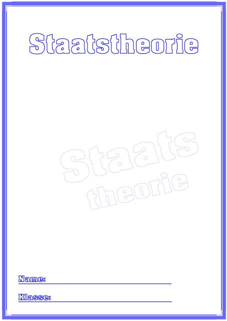 Deckblatt staatstheorie als pdf ausdrucken
