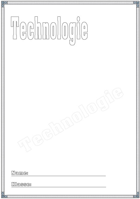 Deckblatt Technologie