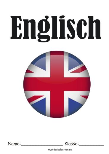 Deckbl 228 Tter Englisch Sprache Englisch Schulf 228 Cher
