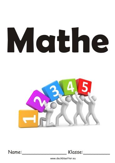 Deckblatt Mathe 3