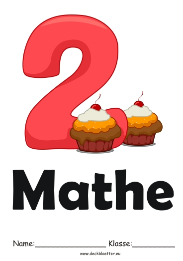 Deckblatt Mathe 6