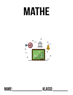 Deckblatt Mathe 7. Klasse