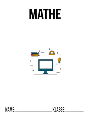 Deckblatt Mathe 8. Klasse