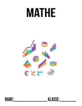 Deckblatt Mathe Diagramme