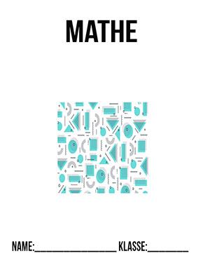Deckblatt Mathe Geo