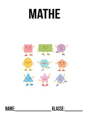 Deckblatt Mathe Geometrie